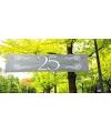 25 jaar jubileum banner zilver