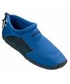 Blauwe heren surf en waterschoenen