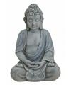 Polystone beeld Boeddha 31 cm