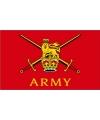 Engelse leger vlag rood