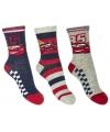 Disney Cars sokken 3-pak navy/rood/grijs