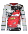 Cars kinder t-shirt grijs