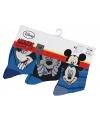 Voordeelpak 3 paar kindersokken Disney Mickey Mouse