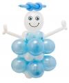 Babyshower doe het zelf ballonnen jongen