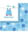 Babyshower servetten its a baby boy