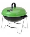 Ronde vakantie barbecue groen