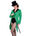 Slipjas groen voor dames