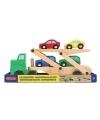 Auto transportwagen van hout