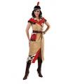 Indiaan kostuum voor dames