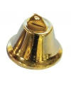 Gouden kerstklokjes 38 mm 5 stuks