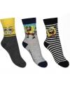 Voordeelpak 3 paar kindersokken Spongebob