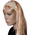 Lycra haarband geel