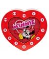 Rode Minnie Mouse klokken