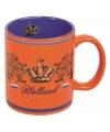 Oranje Holland koffiebeker