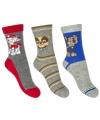 Nickelodeon Paw Patrol sokken 3-pak grijs