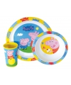 Peppa Big kinderservies 3 delig