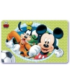 Holografisch plastic Mickey Goofy placemat
