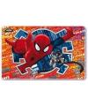 Holografisch plastic Spiderman placemat