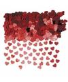 Rode valentijn hartjes confetti 1 zakje