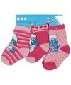 Kraamkado Roze Smurfen sokken