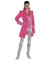 Kostuum jas roze voor vrouwen