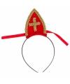 Sinterklaas rode diadeem voor kinderen