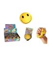 Stressballetje gele smiley
