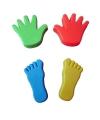 Zandvormen 4 delig handen en voeten