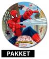 Spiderman verjaardag pakket