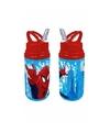 Spiderman drink fles rood