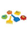 Speelgoed zandvormen 6 delig