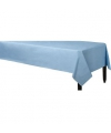 Plastic tafelkleed lichtblauw 140 x 240 cm