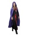 Halloween vampier cape paars