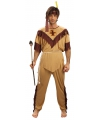 Carnavalskostuum indiaan voor heren