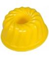 Speelgoed zandvorm tulband geel