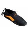 Dames surf en  waterschoenen zwart oranje