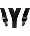 Verkleed bretels zwart voor jongens